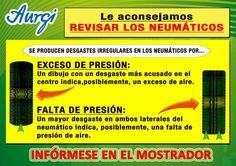 INFO NEUMÁTICOS I (Válido del 17 de julio al 17 de agosto 2015). Más información en www.aurgi.com/