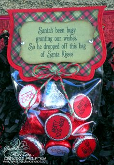 Created by Candace using Christmas Candies, Christmas Poop, Curly Label Die, Fancy Topper Die and 3x4 bag. http://jadedblossom.bigcartel.com/                                                                                                                                                                                 More