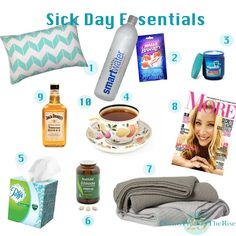 Sick Day Essentials - My Top 10 Essentials for when I'm feeling under the weather