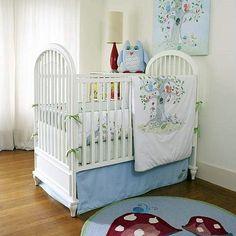 Wishing Tree 3 Piece Crib Bedding Set    LOVE LOVE THIS...but times 2 = $$$$$$ :-(