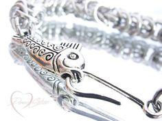 Check out this item in my Etsy shop https://www.etsy.com/listing/257948650/fishing-bracelet-fish-hook-bracelet-hook