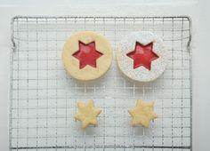 Biscotti di Natale al lampone