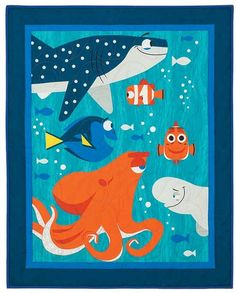 Finding Dory Quilt Kit Dory Characters 78afe729a3f