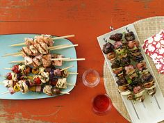 50 Kebabs : Recipes and Cooking : Food Network - FoodNetwork.com