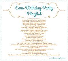 ramonaruby's everyday fabulous blog   because everyday life should be fabulous: Disney Cars Themed Birthday Party