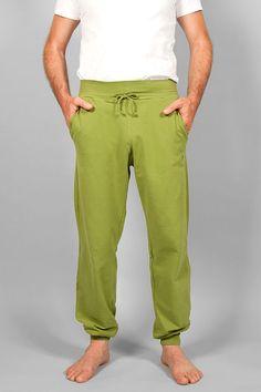 Yogahose Mahan Farbe Moosgrün Größe S-XL