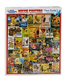 White Mountain Puzzles Movie Posters - 1000 Piece Jigsaw Puzzle