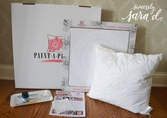 Cutting Edge Stencils shares how to create the perfect accent pillow to match your decor using the Funky Wheel Paint-A-Pillow kit. Accent Pillows, Bed Pillows, Cutting Edge Stencils, Perfect Pillow, Pillow Cases, Campaign, Kit, Medium, Storage
