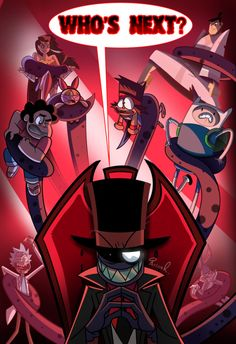 """"""" Black Hat walking into Cartoon Network for Phase 2 like…""""Sorry for the lack of a Zeroes page last week! Was busy prepping up for Hur. Villainous ( + Rick Cuz Why Not? Cartoon Games, Cartoon Shows, Cartoon Art, Cartoon Drawings, Cartoon Characters, Best Crossover, Fandom Crossover, Desenhos Cartoon Network, Character Art"""