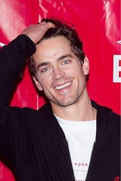 "Matt Bomer as Calvin Morrissey in Jennifer Crusie's ""Bet Me""."