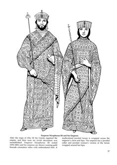Byzantine Fashions 33  #Byzantine #garb #SCA  It's Dover-like, but it does seem to match with primary sources.