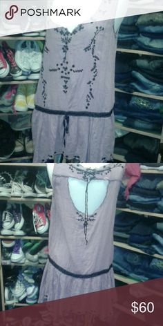 Free People pale purple dress Very nice, worn maybe 3 times. Excellent condition. Free People Dresses Midi