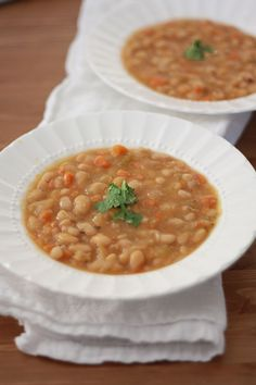 Use 2/3 lb of beans to serve 8: Slow Cooker Vegetable Bean Soup is one that you need in your go-to collection. This hearty rich soup is just the thing to get you through winter.