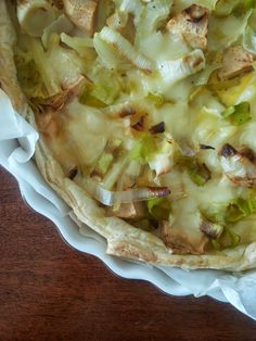 Tè verde e pasticcini: {TorteRustiche} - Sfogliata di patate, porri e mela