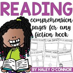 I created these pages to be used after any fiction book. They are ideal for students to work on independently. Because they are differentiated, you can easily choose what level works for best for each student. They are meant to be reinforcement or assessment after a lesson about a comprehension skill, or as review of a previously taught skill.