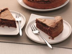 Mœlleux au chocolat au micro-ondes (plat crisp)