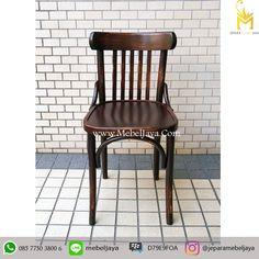 Harga Kursi Cafe Vintage Kayu Jati Jepara - Pesan sekarang di Jepara Mebel Jaya Furniture kursi cafe dengan desain Retro unik harga Terjangkau.
