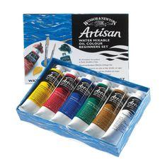 Amazon.com: Winsor & Newton Artisan Water Mixable Oil Color 6-Tube Beginner Set, 37ml: Art Paints: Artwork