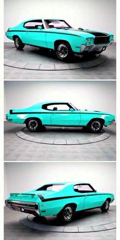 1970 Buick Skylark GSX. Buick Muscle Car, 70s Muscle Cars, Buick Gsx, Cool Old Cars, Buick Cars, Buick Skylark, Pony Car, Drag Cars, Hot Cars