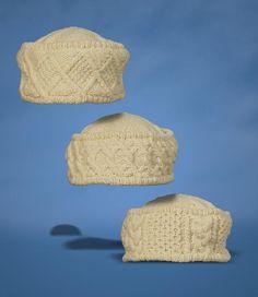 (6) Name: 'Knitting : Aran Hats