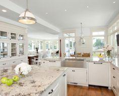 Alaska White Granite Natural Stone - Contact Granite Dealers for availability +1 800-848-1339