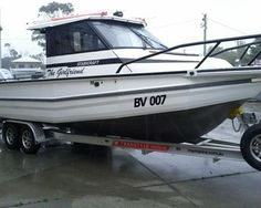 Cool boat Stabicraft 2600 Supercab Trailer Boat