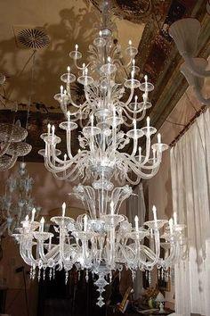 lampadario antico : Lampadario antico Murano-Fontana di luce- More