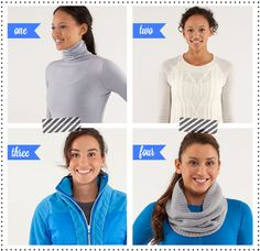 Merino Wool Apres Gear- gotta have cute workout gear right?