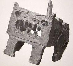 """Isamu Noguchi (US 1904-1988), """"Cat"""" 1952. (Destroyed 1955)"""