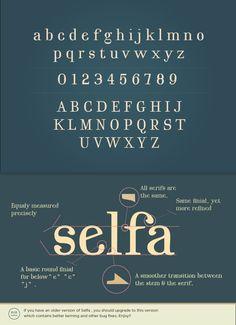 Selfa | Font | Free Download
