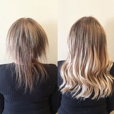 These extreme hair extensions makeovers will blow your mind. Click through to see the transformations. Keratin Hair Extensions, Hair Extensions Tutorial, Fusion Hair Extensions, Hair Extensions Before And After, Hair Extensions For Short Hair, Klix Hair Extensions, Tape In Extensions, Before After Hair, Hair Extension Care