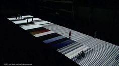 Ryoji Ikeda : : test pattern [nº5], 8 JUN - 1 JUL 2013, Carriageworks, Sydney, AU. Ryoji Ikeda, test pattern [nº5], 2013 audiovisual install...