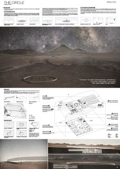 """Galería de Resultados Concurso Para Estudiantes y Jóvenes Arquitectos """"Museo Internacional de Astronomía IMOA en el Desierto de Atacama"""" - 3"""