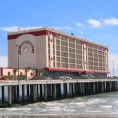 The late great Flagship Hotel (destroyed by Hurricane Ike), Galveston Island, Texas