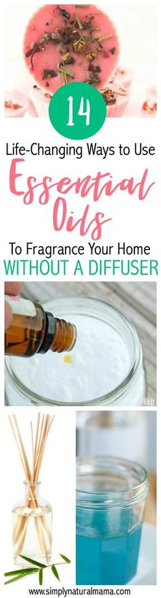 I am so grateful for this blog post! I had no idea that there were this many ways (14!) to use essential oils without a diffuser. Now, my house can smell great all the time AND I can save money by not having to buy a diffuser. Woohoo! via @simplynaturalma