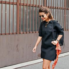 Blogger @collagevintage sports a dress from the Calvin Klein Jeans Black Series Limited Edition line. Photographed by @piotrniepsuj #mycalvins  Available now at calvinklein.com [US]. Link in profile to shop. - Shop now for calvinklein > http://ift.tt/1Ja6lvu