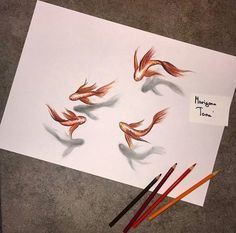 #3D #drawing so realistic Beautiful Drawings, Cool Drawings, 3 D, Rooster, Moose Art, Abstract, Artwork, Animals, Drawings