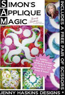 Simon's Applique Magic + FREE Shipping - NOW AVAILABLE!