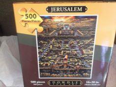 Eric Dowdle Folk Art Jigsaw Puzzle Jerusalem 500 Pieces NIB #DowdleFolkArt
