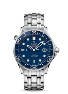 Christian Grey's new watch. Omega Seamaster Co-Axial 41 mm