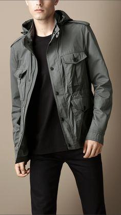 Burberry: Lightweight Field Jacket