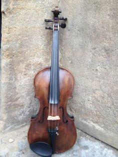 staré housle, old violin 4/4 bez popisu