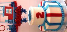 Thomas Train Boy Cake 2nd Birthday Party Planning Decorations Ideas