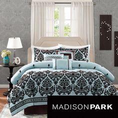 Madison Park Kelsey 7-piece Comforter Set | Overstock.com Shopping - Great Deals on Madison Park Comforter Sets