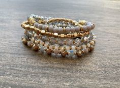 Brittany Bracelet Stack: Silver Multi Badass Style, Apple Watch Bands, Makeup Junkie, Boutiques, Brittany, Fashion Boutique, Beaded Bracelets, Silver, Jewelry
