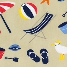 For the I spy quilt. Jack and Lulu - Its a Shore Thing - Its a Shore Thing in Sand