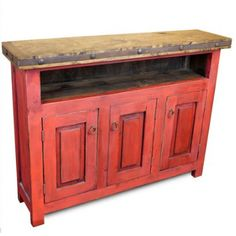 Vintage Mexican TV Stand Console Handmade Distressed Red Wood Cabinet Storage | #mexican #mexicanDecor #decor #mexicanHomeDecor #homeAccessories #vintage #vintageCabinet #mexicanFurniture #MexicanVintageFurniture Cabinet Furniture, Home Decor Furniture, Vintage Furniture, Wood Cabinets, Storage Cabinets, Mexican Home Decor, Mexican Decorations, Mexican Furniture, Rustic Hardware
