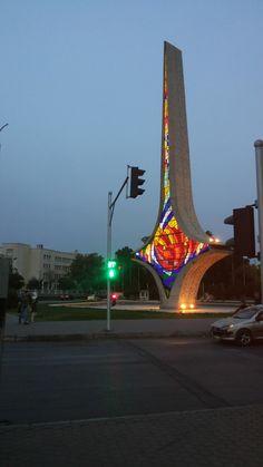 Syria Flag, Kurdistan, Old City, Jasmine, Scale, Public, Sculpture, History, Country