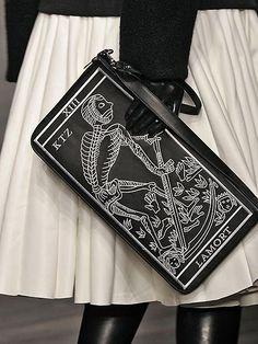 *AW13 PRE* KTZ LA MORT Tarot Card Bag