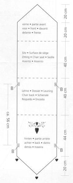 Patron couture housse de chaise telerie pinterest - Housse de chaise patron gratuit ...